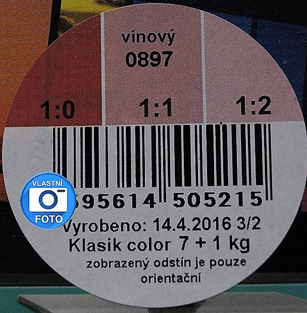 HET Klasic COLOR 0897 vínová