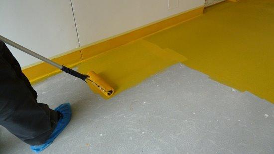 Nátěry betonových podlah