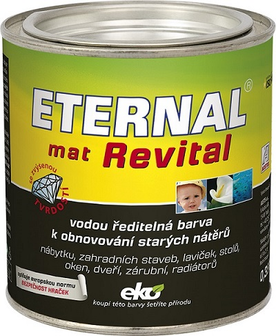 Eternal Revital  Mat 201 bílá 0,7kg