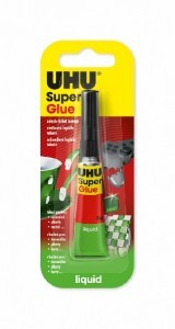 UHU super glue gel 3g