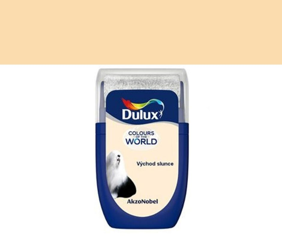 Dulux Tester Colours of the world Východ slunce 30ml