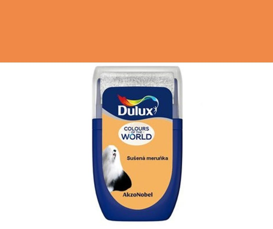Dulux Tester Colours of the world Sušená meruňka 30ml