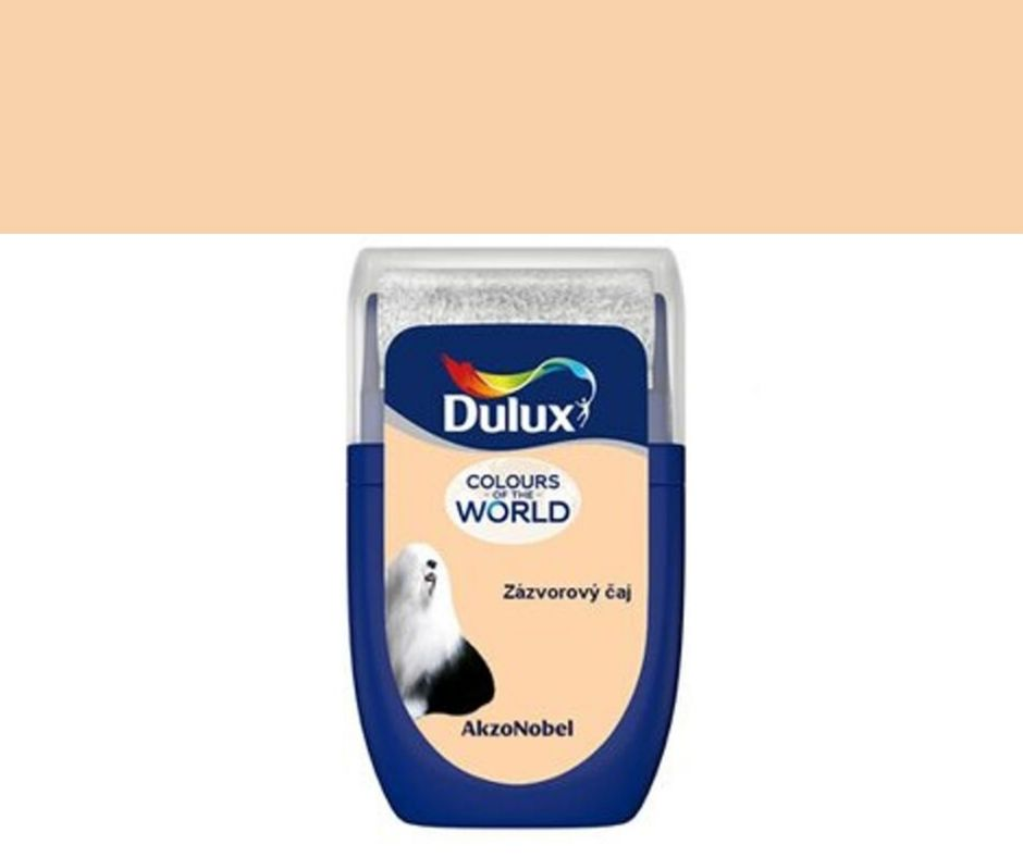 Dulux Tester Colours of the world Zázvorový čaj 30ml