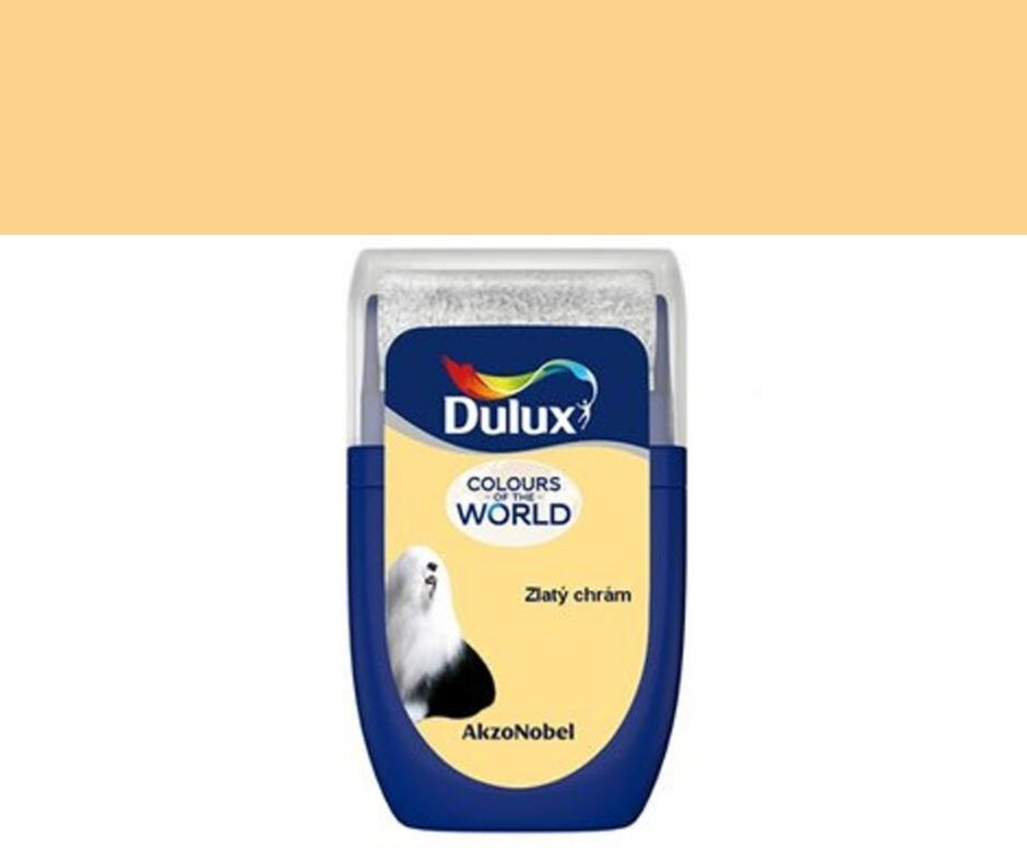 Dulux Tester Colours of the world Zlatý chrám 30ml