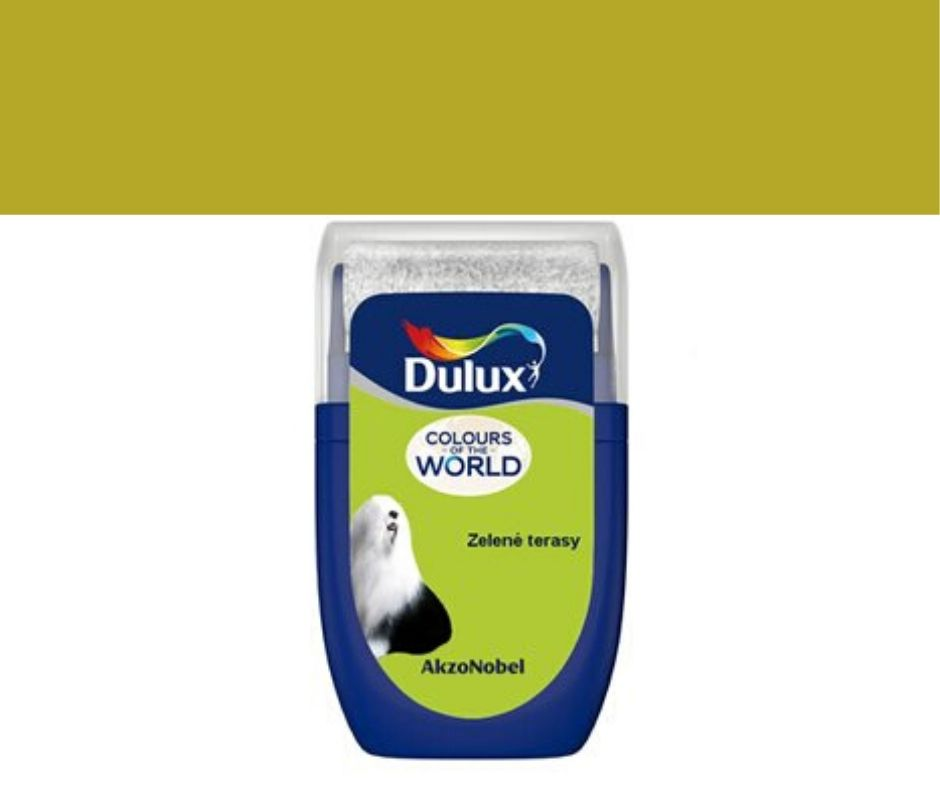 Dulux Tester Colours of the world Zelené terasy 30ml