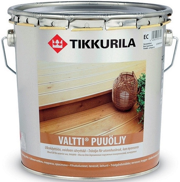 Tikkurila Valtti Wood Oil 2,7 L
