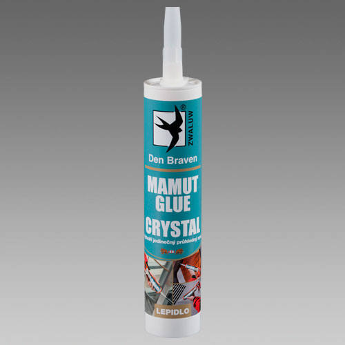 DEN BRAVEN mamut glue crystal transparentní 290ml