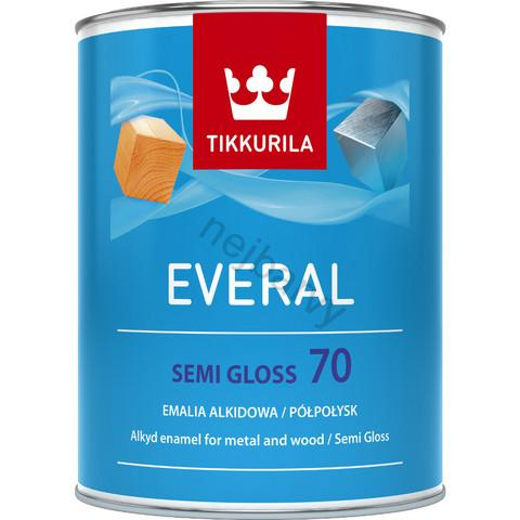 Tikkurila Everal semi gloss 2.7l DO VYPRODÁNÍ ZÁSOB