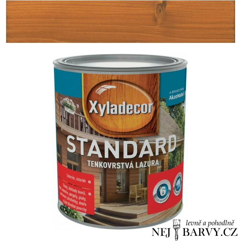 Xyladecor Standard 2,5l - Cedr