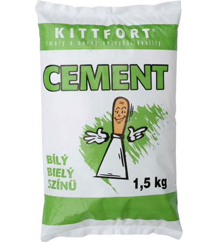 Kittfort Cement bílý 1,5kg