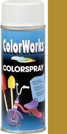 Motip ColorWorks Spray 918518C zlatý akrylový lak 400ml